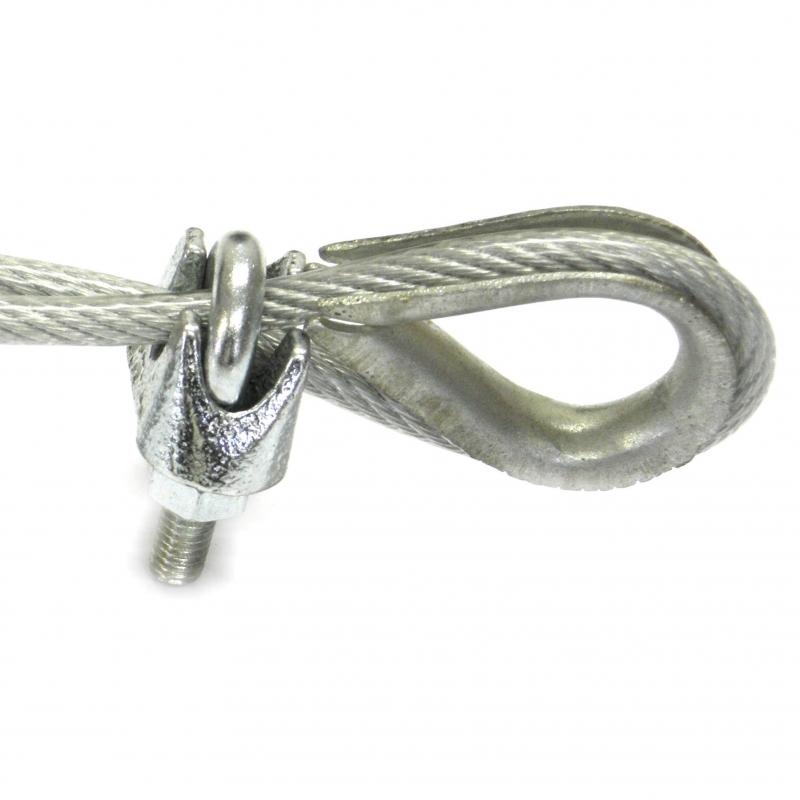 Sujeta Cables de 5 mm